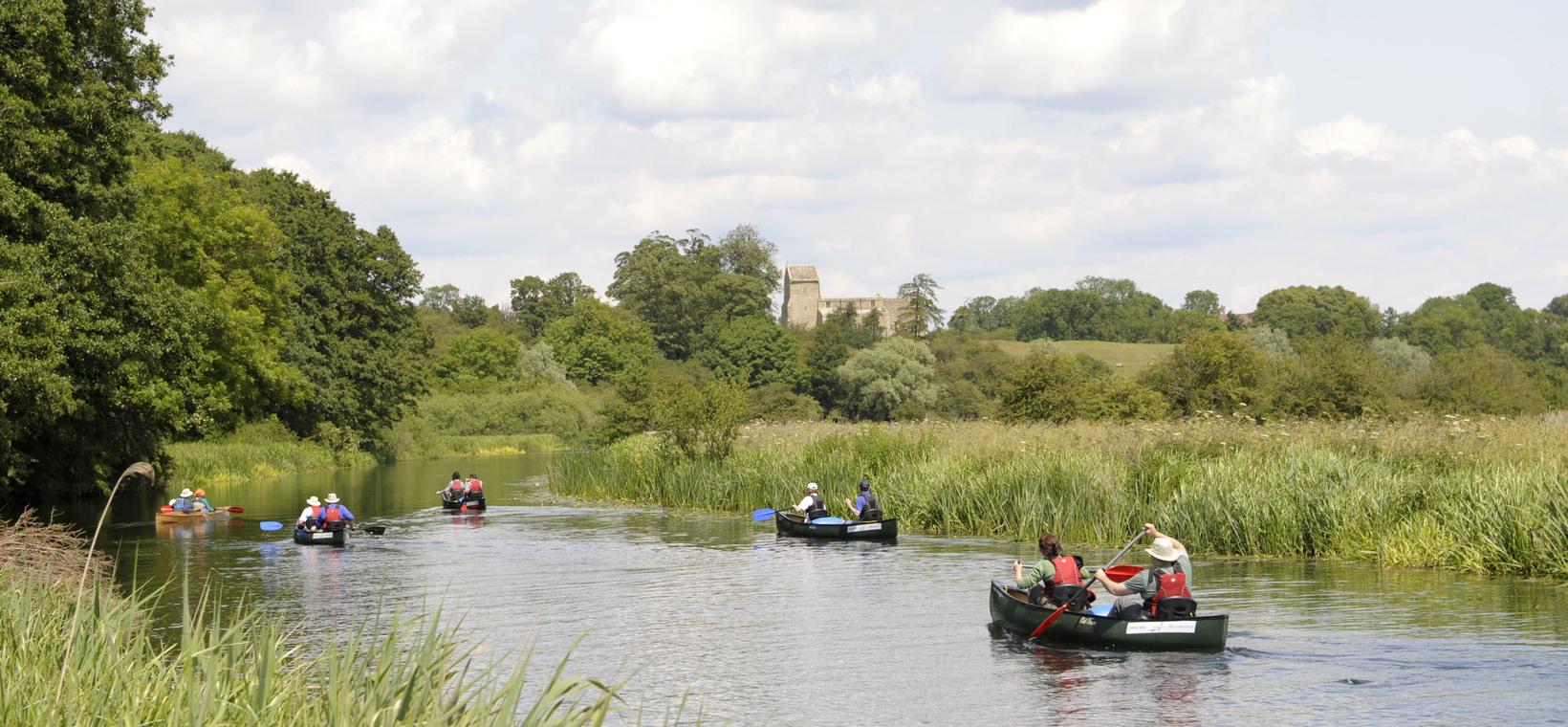 Corporate Canoe Trips