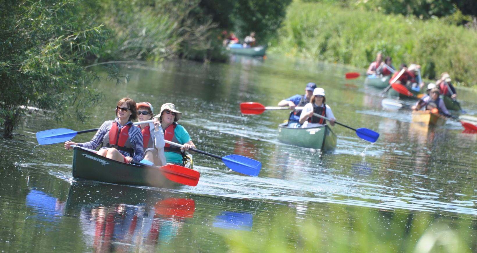 Shorter Canoe Trips