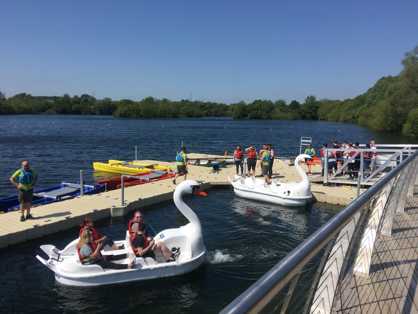Get on the water at Rushden Lakes
