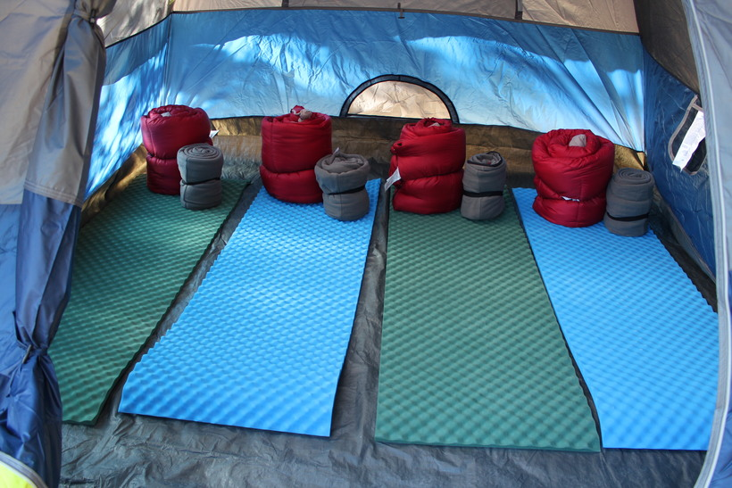 Equipment for 4 Campers