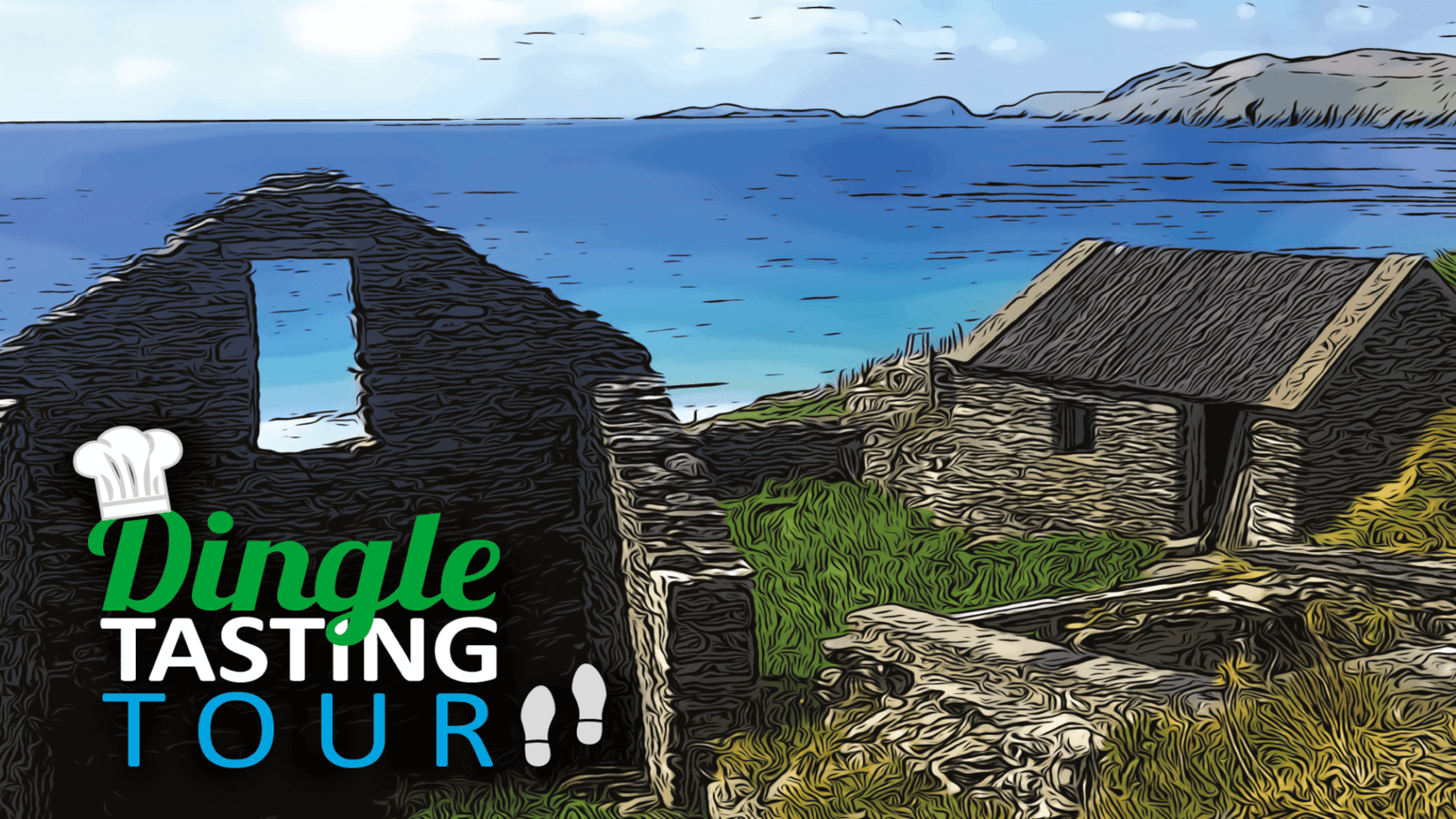 The Dingle Tasting Tour - Three glorious hours of food, drink, history and an insiders view of Dingle you will never forget.
