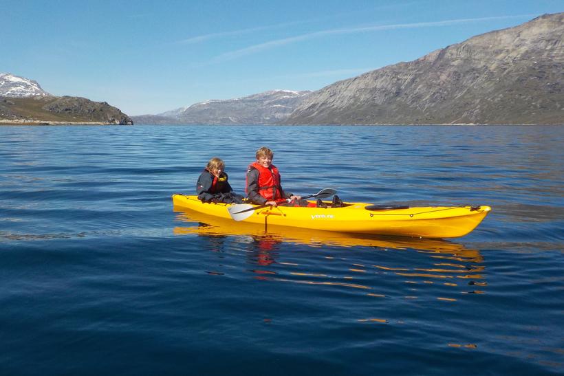 Kayaking & Arctic Char Fishing