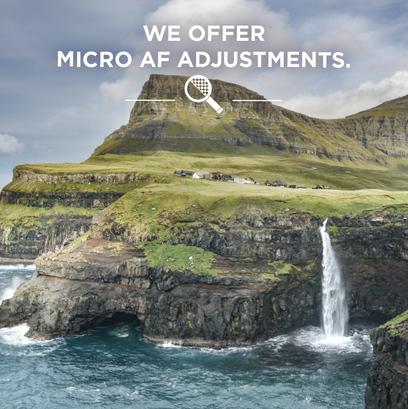 Micro AF Adjustments