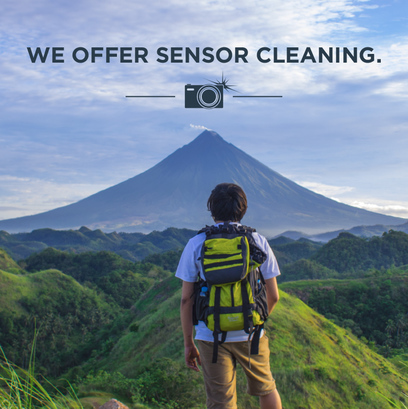 Get Your Sensor Cleaned!