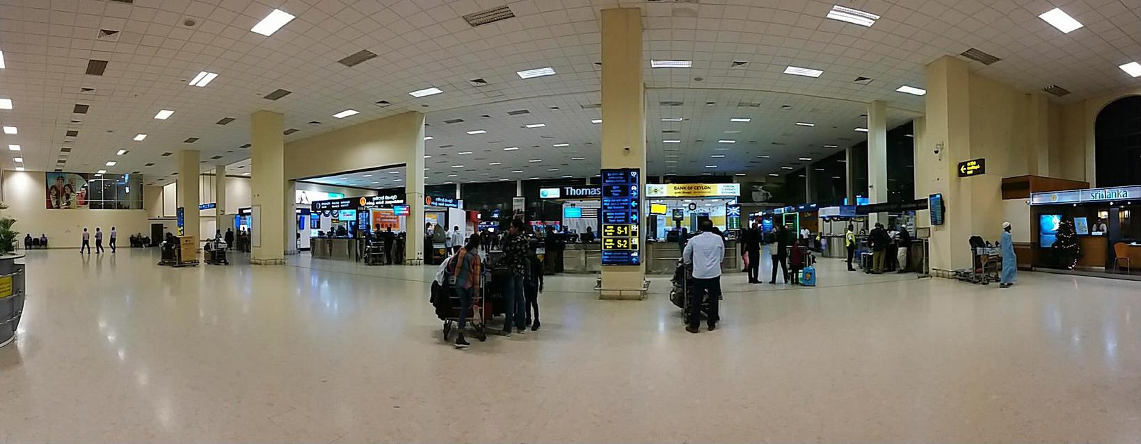 Bandaranaike International Airport (CMB)