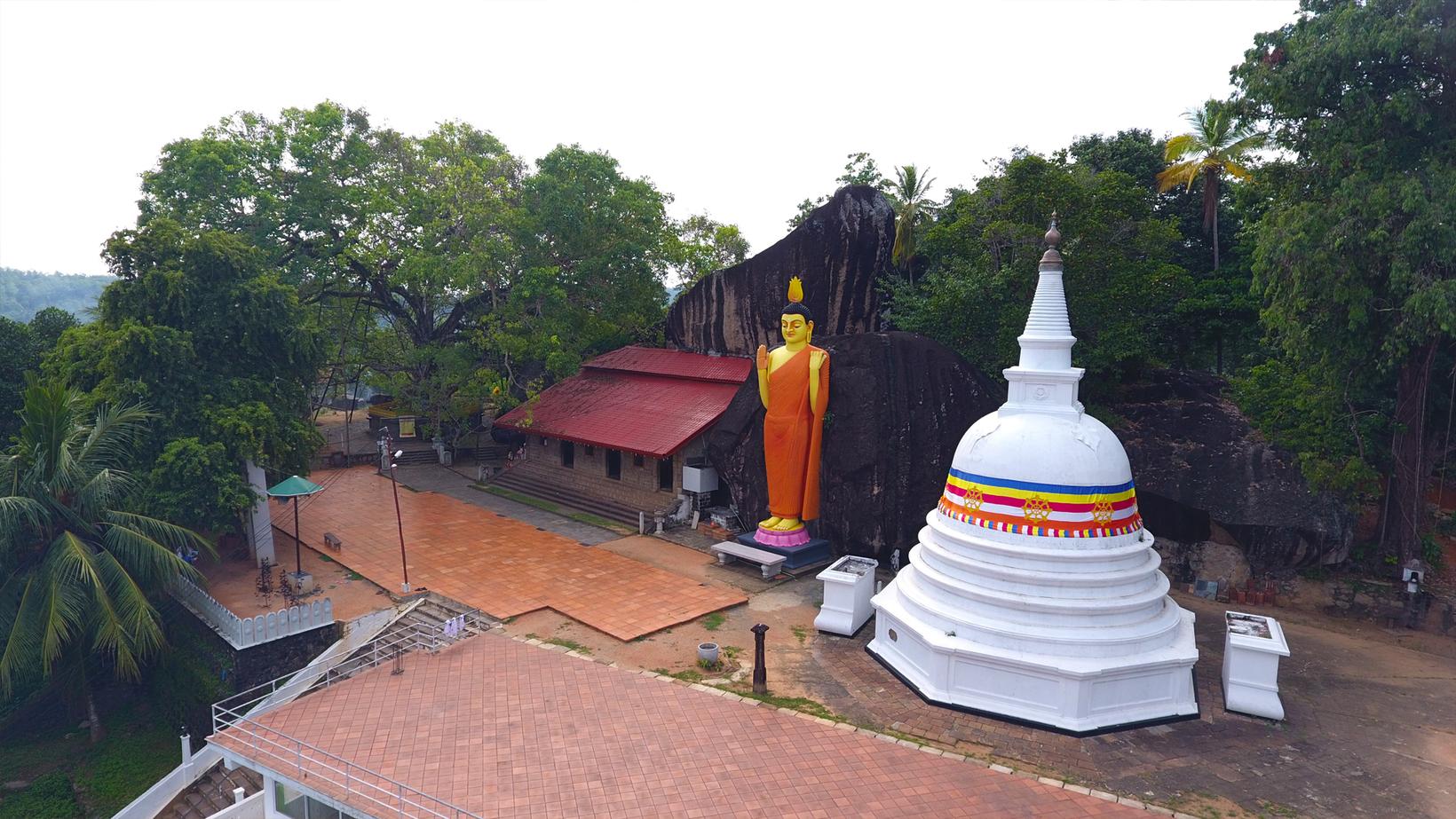 Yatagala Raja Maha Viharaya, Unawatuna