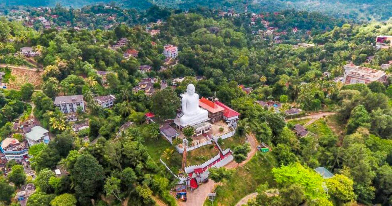 Bahirawakanda Vihara Buddha Statue, Kandy