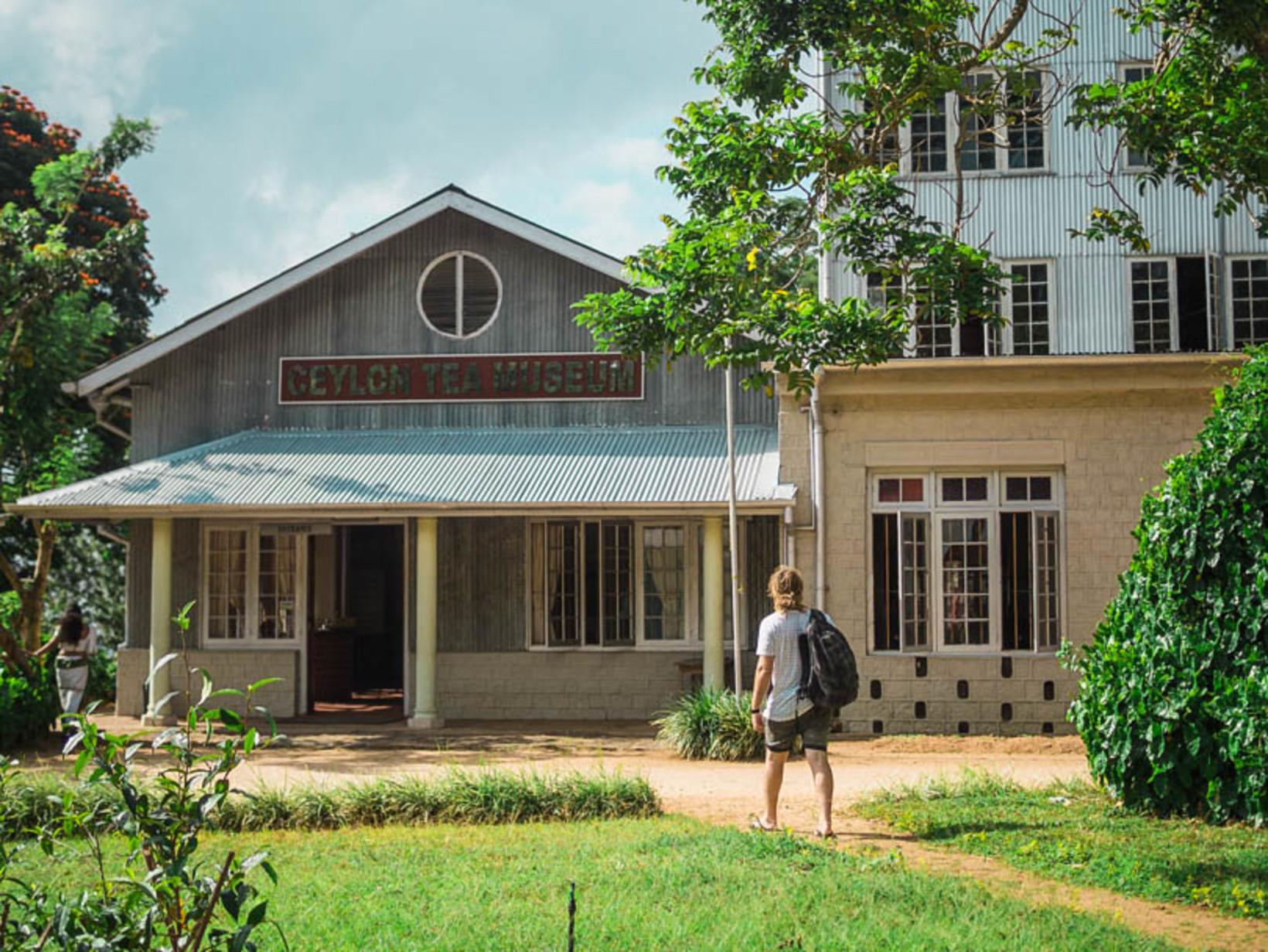 Ceylon Tea Museum, Hantana