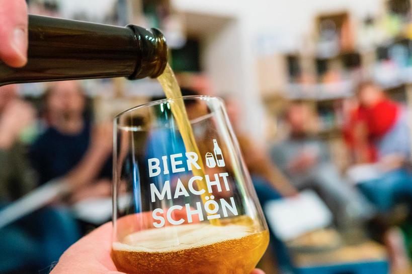 Bier macht schön
