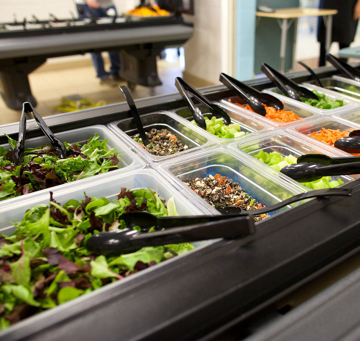 Making Salad Bars Fit Your Operations