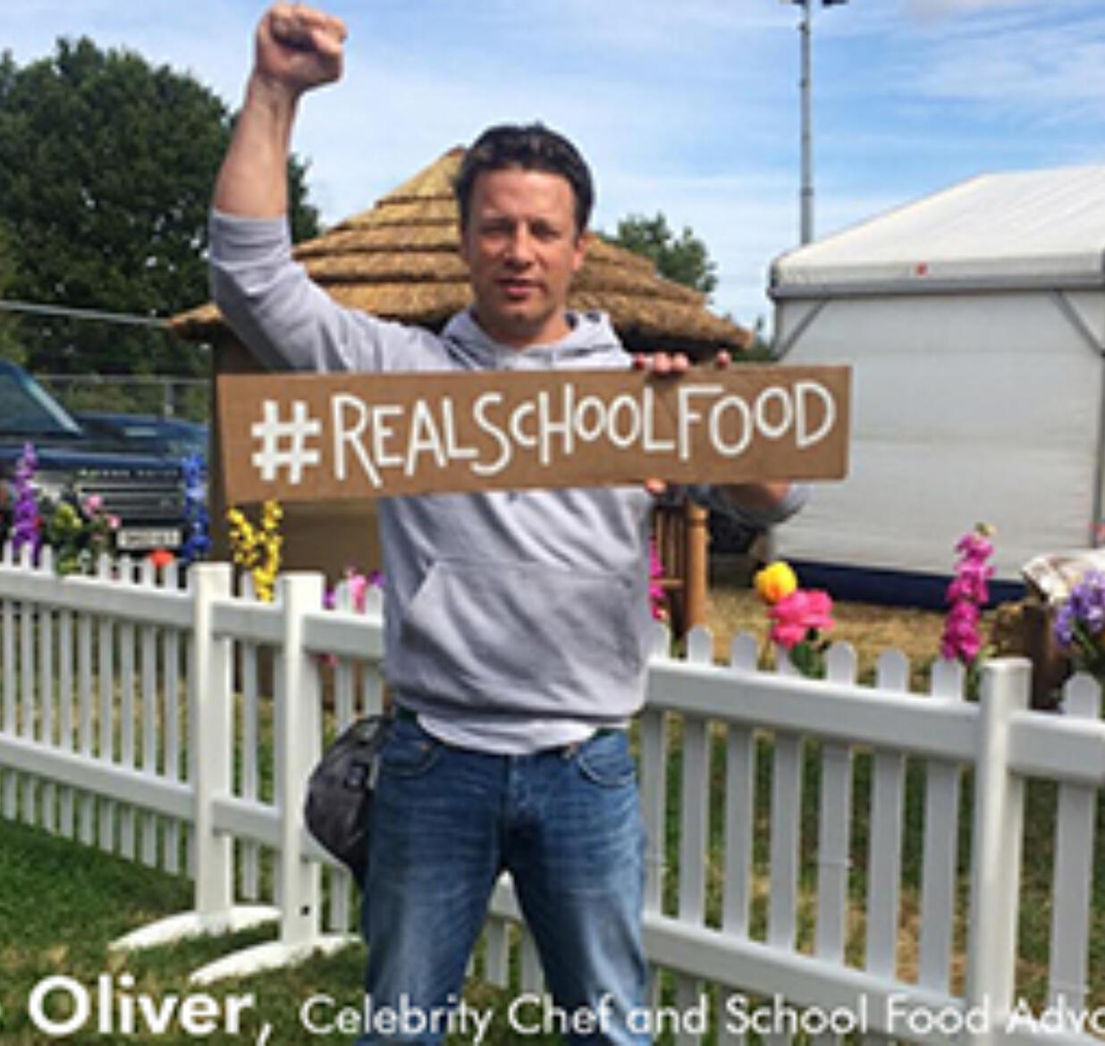 Celebrities and the Public Unite to Support #RealSchoolFood