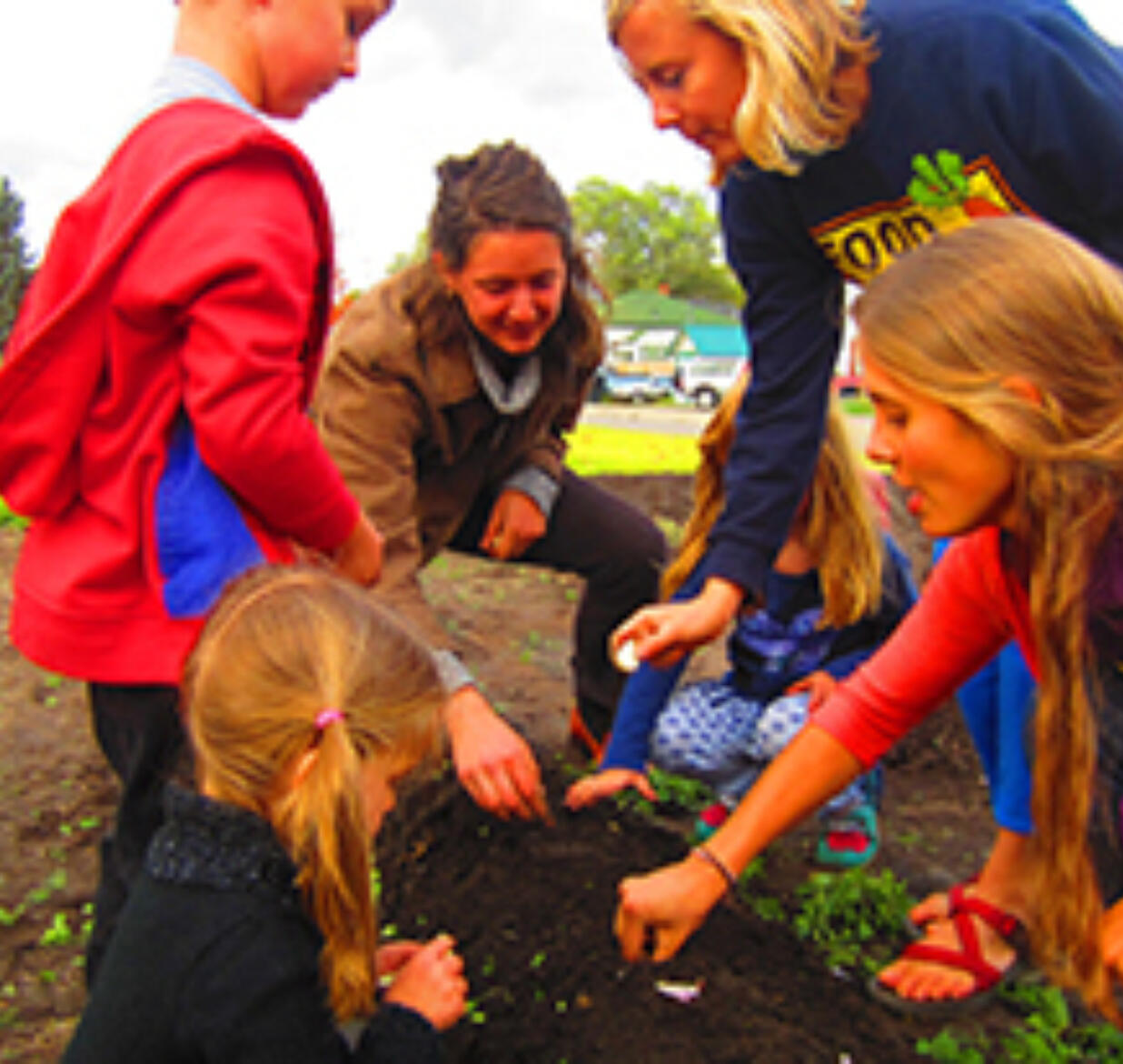 FoodCorps' Impact on Schools in Kalispell, Montana