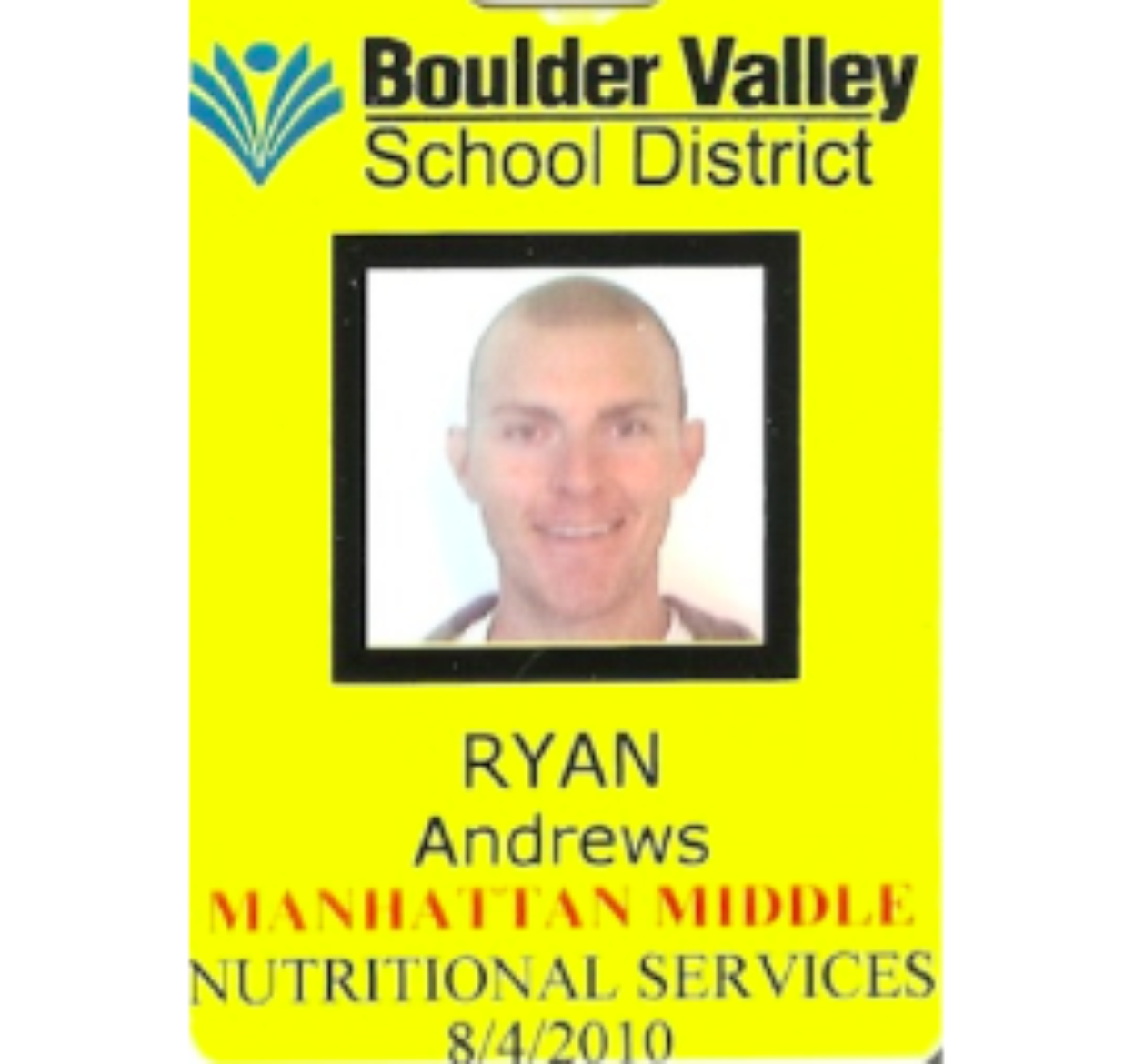 Ryan Andrews, Lunch Lady