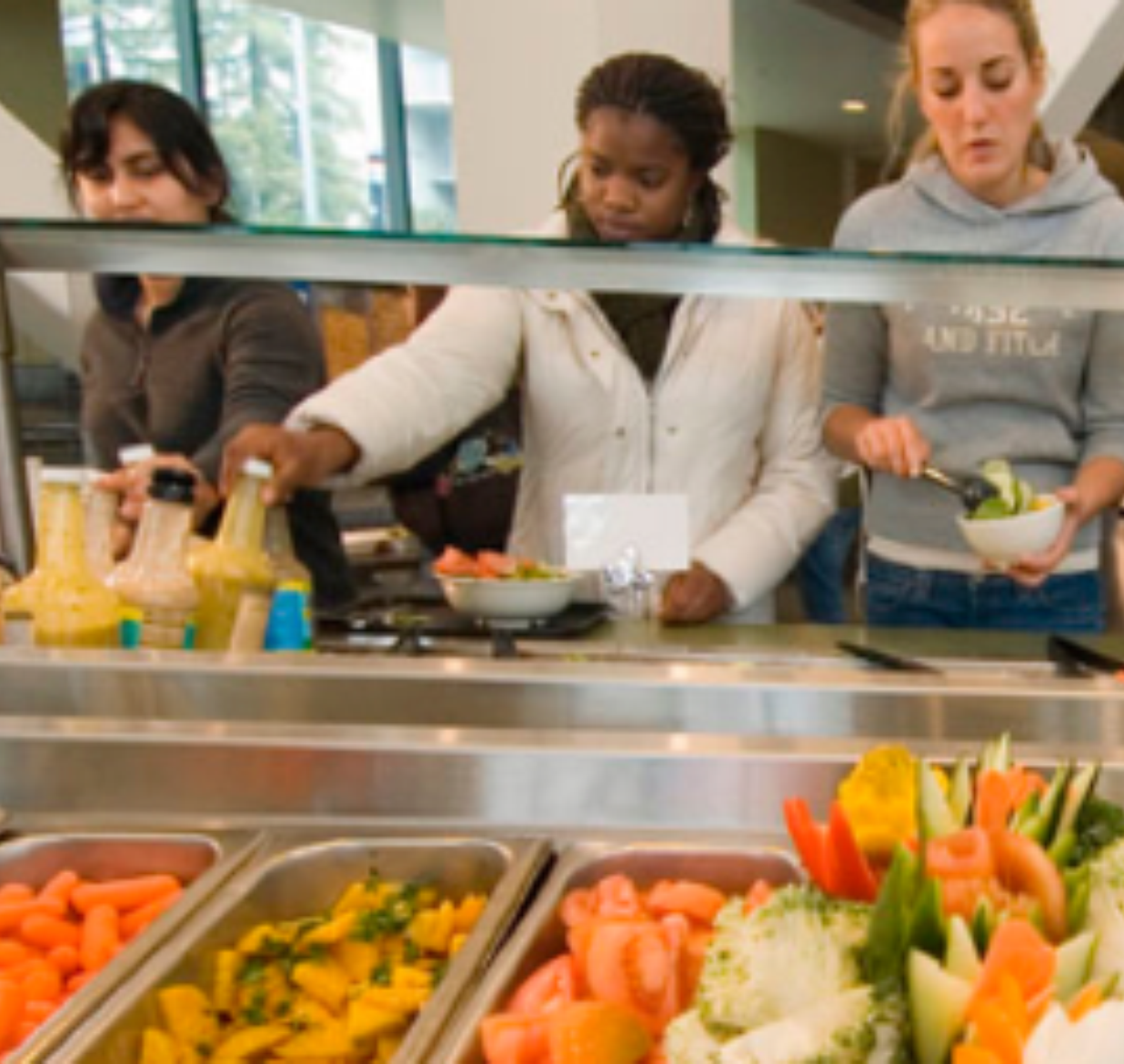 College Cafeteria Food: The Good, the Bad and the Ugly