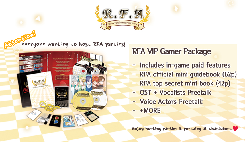 RFA VIP Package