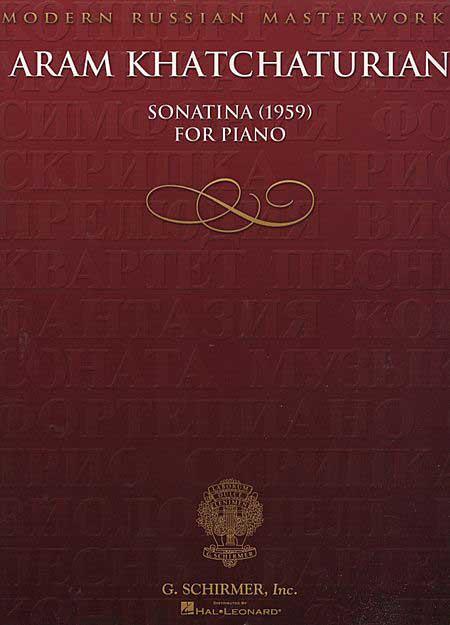 Sonatina (1959): Piano Solo (Modern Russian Masterworks)