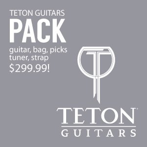 Teton Guitars Pack