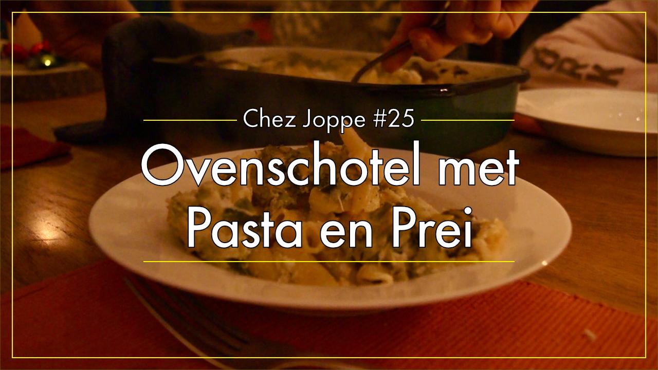ovenschotel-met-pasta-en-prei afbeelding