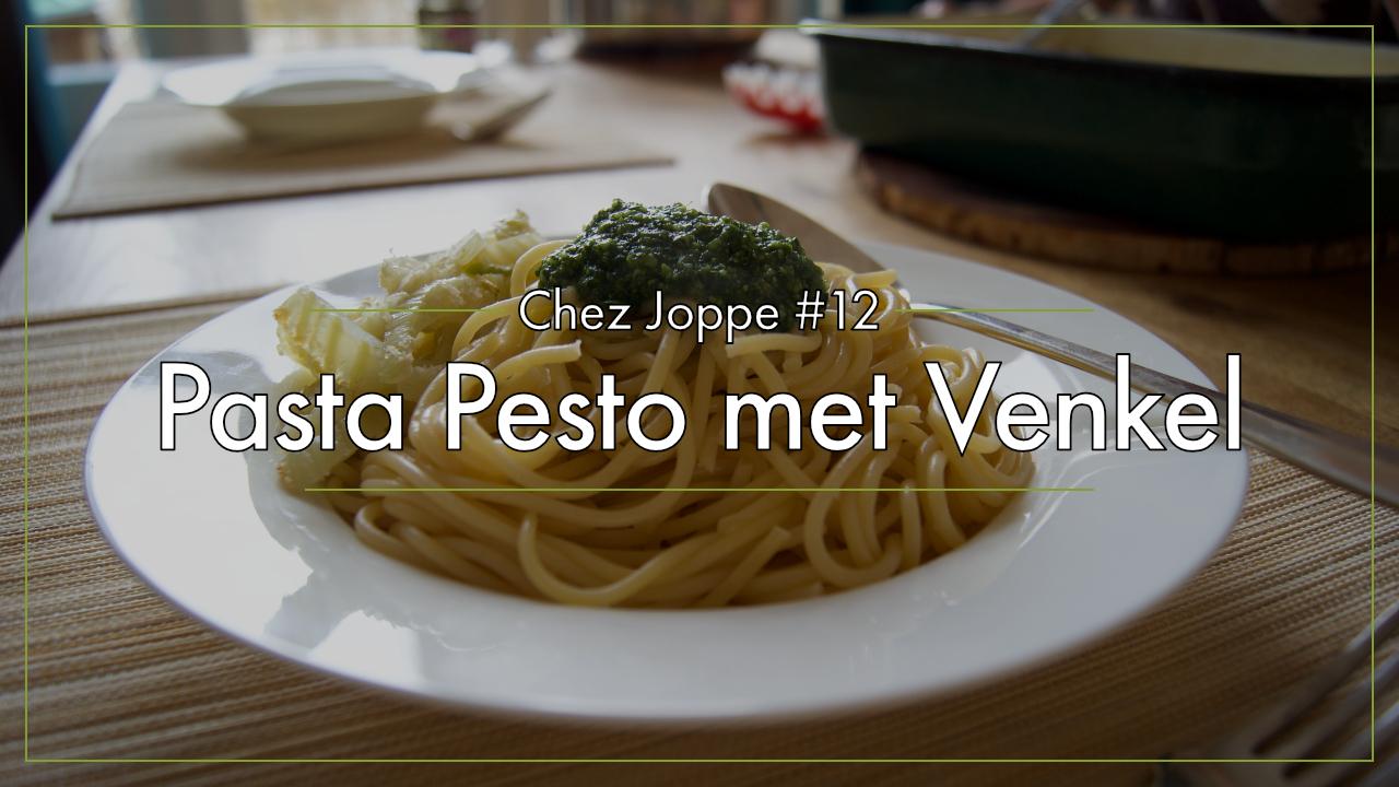pasta-pesto-met-venkel afbeelding