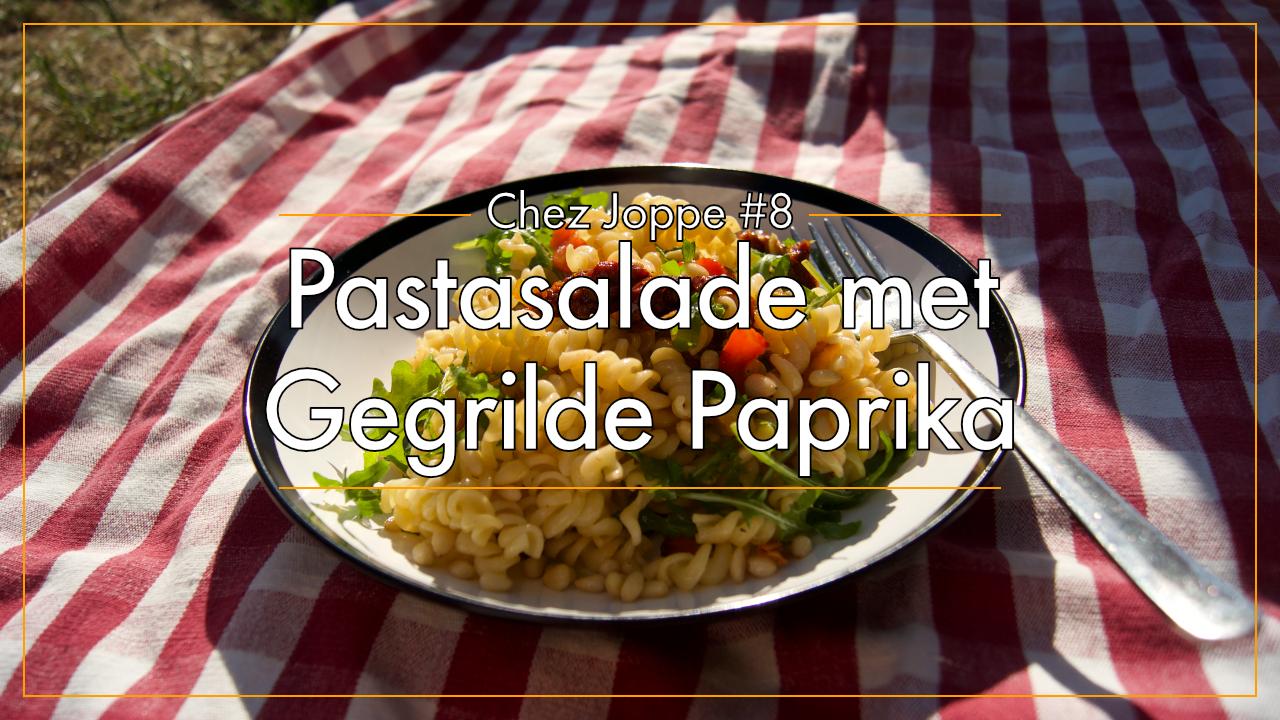 pastasalade-met-gegrilde-paprika afbeelding