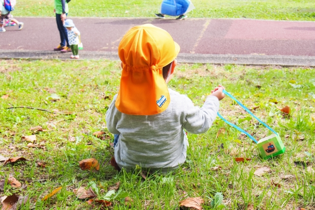 保育園帽子