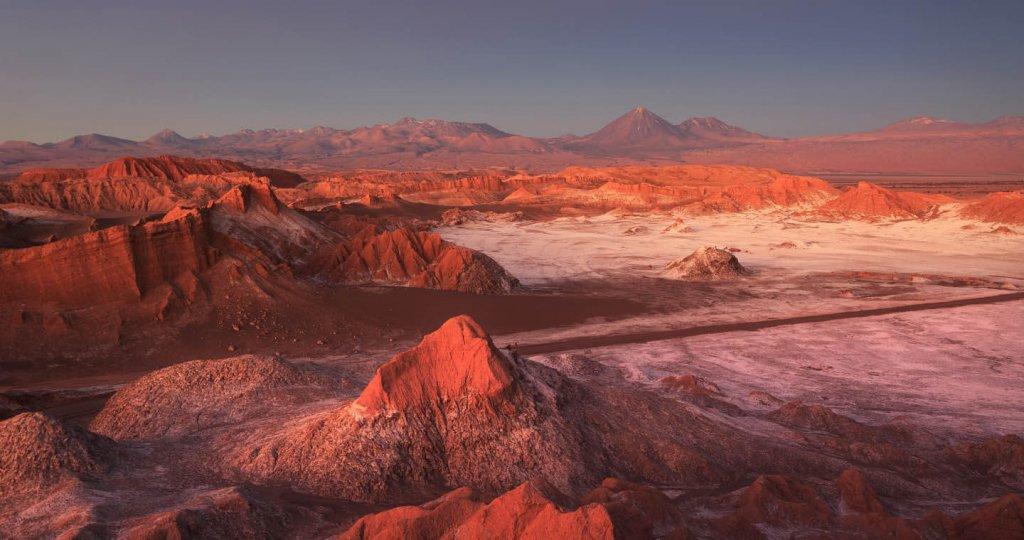 Valle de la Luna y de Marte