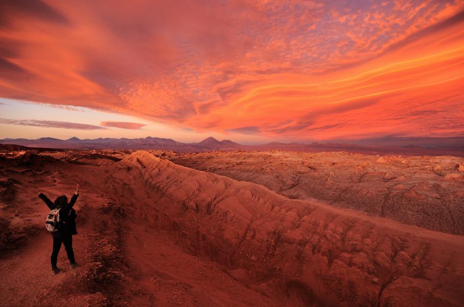 Destinos Turisticos en Chile: Desierto de Atacama