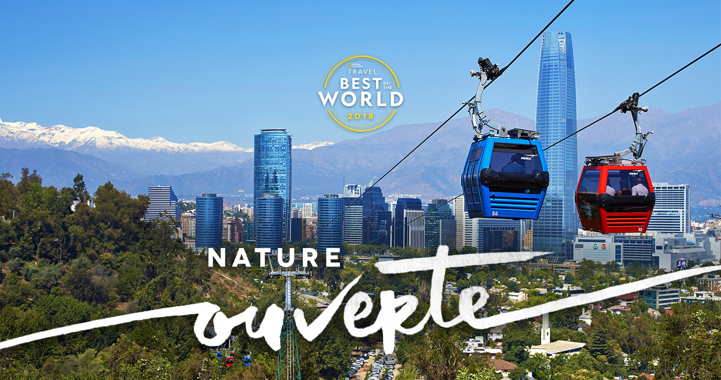 Teleferico Santiago - premio Best Travel