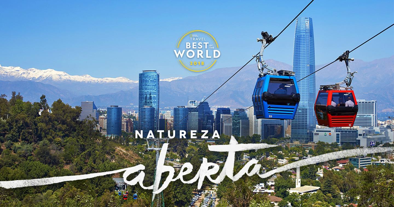 Teleférico Santiago - premio Best Travel