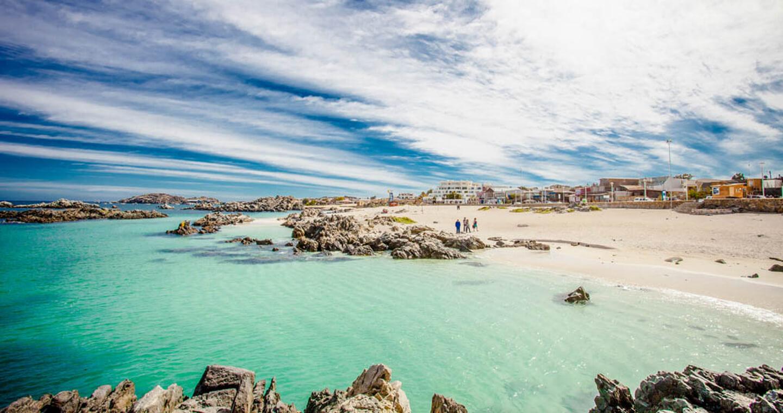 Panoramica Bahia Puerto De Caldera Georeferencia 27 3 50 63 S 70 49 51 18 W