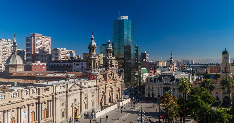 Historisches Zentrum Santiagos Chile Travel