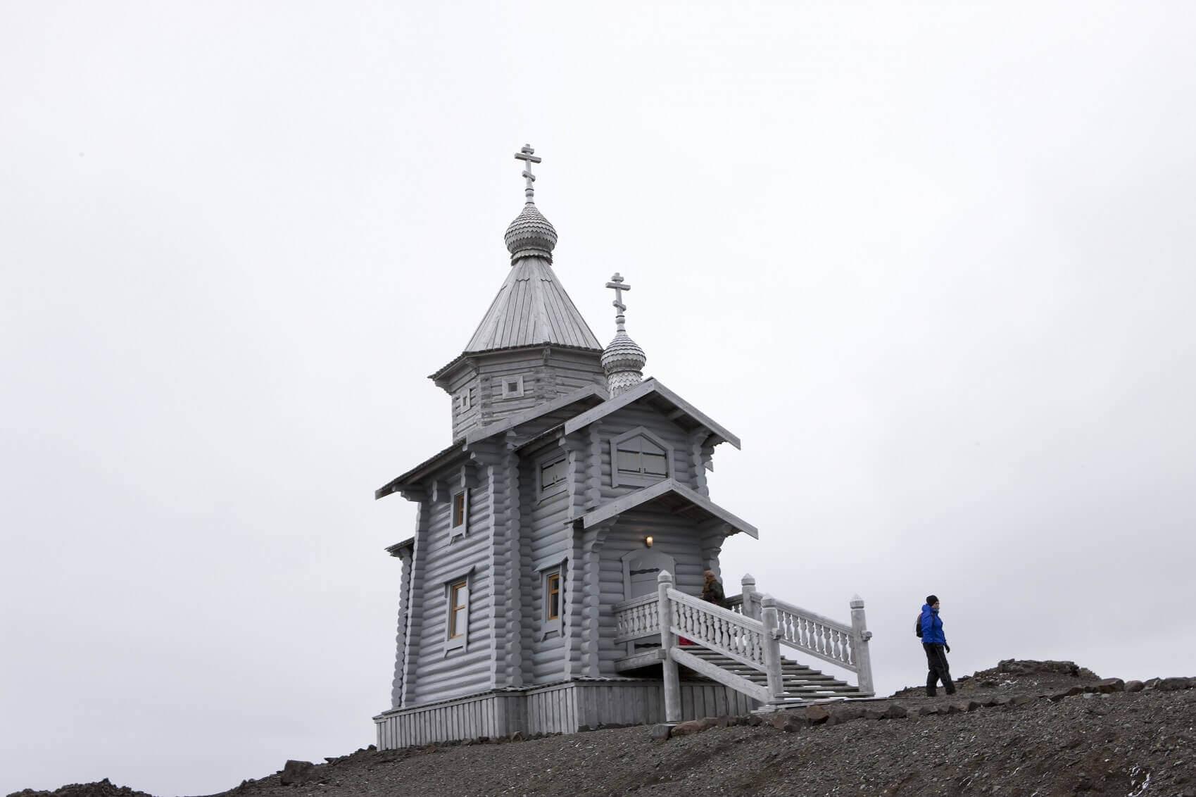 iglesia Trinity antartica