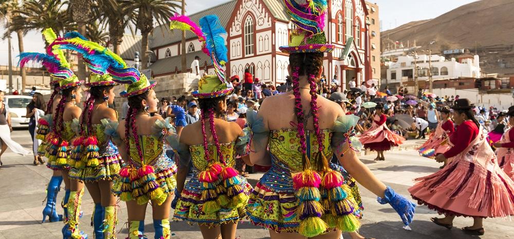 Qué hacer en Arica: Presenciar el carnaval Con la Fuerza del Sol