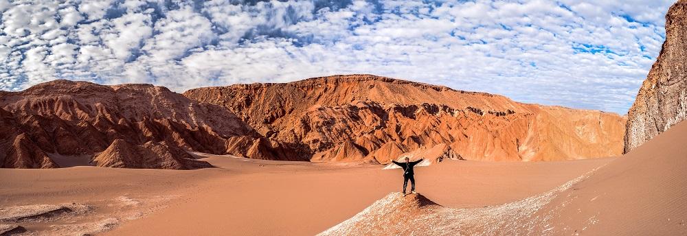 Que hacer en San Pedro de Atacama: Admirar el atardecer en el Valle de la Luna