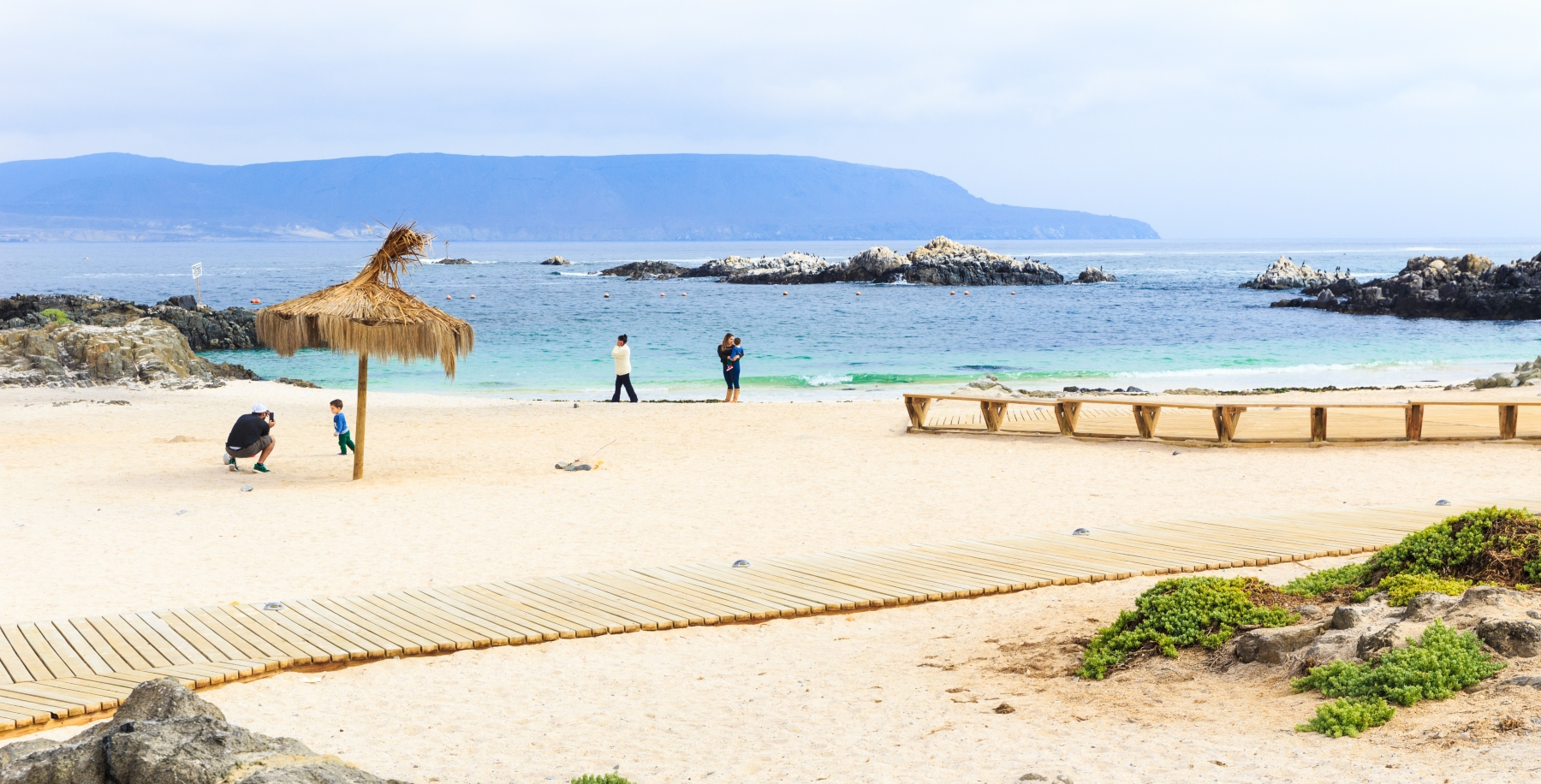 Imagen de la playa de Bahía Inglesa