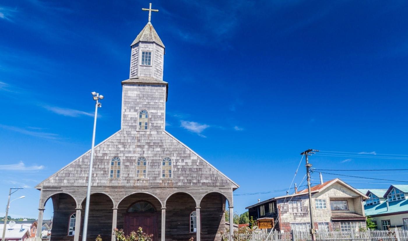 Imagen de la iglesia de Achao