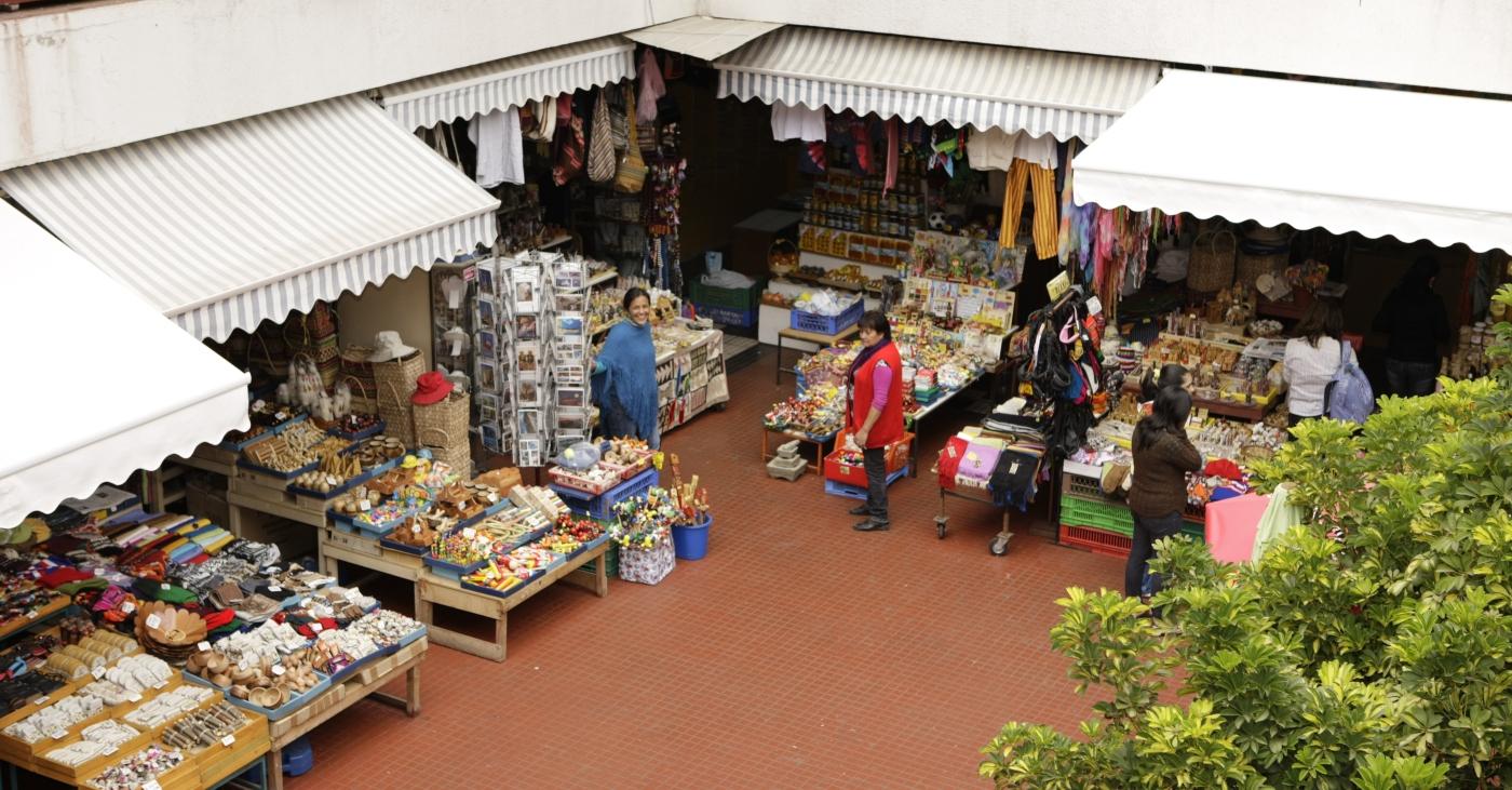 Imagen de La Recova, centro de ventas de comidas y productos típicos de La Serena