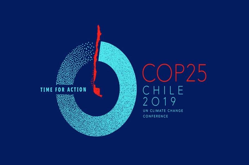 Logo del encuentro mundial COP25