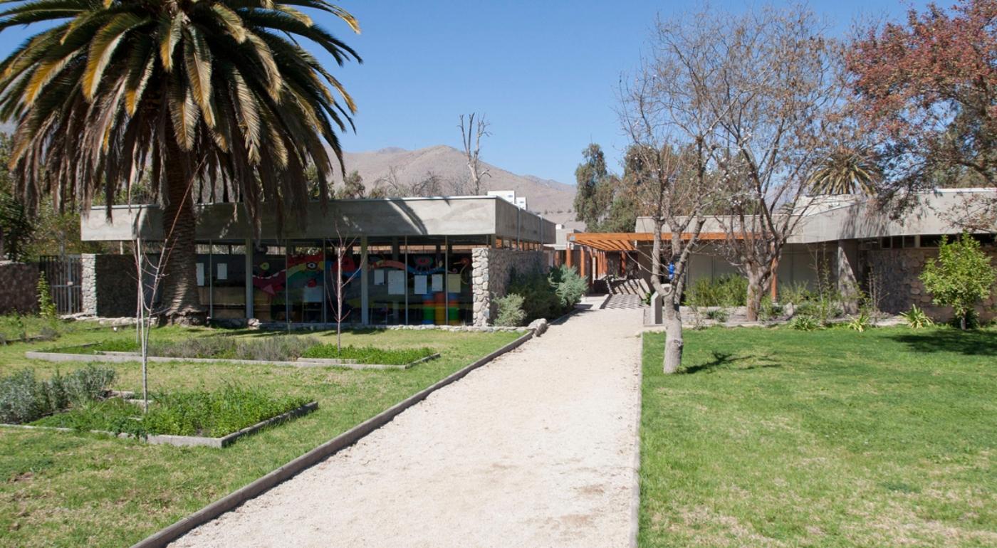 Imagen del frontis del Museo Gabriela Mistral de Vicuña