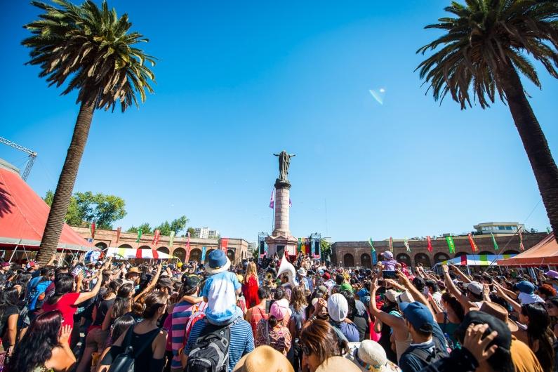 Imagen del festival Womad Chile