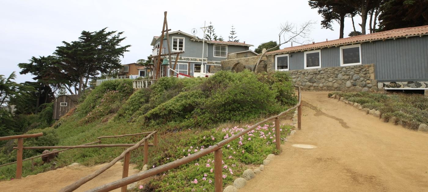 Imagen de la casa de Pablo Neruda en Isla Negra