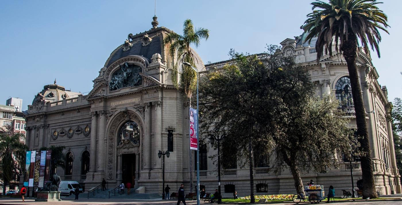 Imagen del Museo Nacional de Bellas Artes de Chile