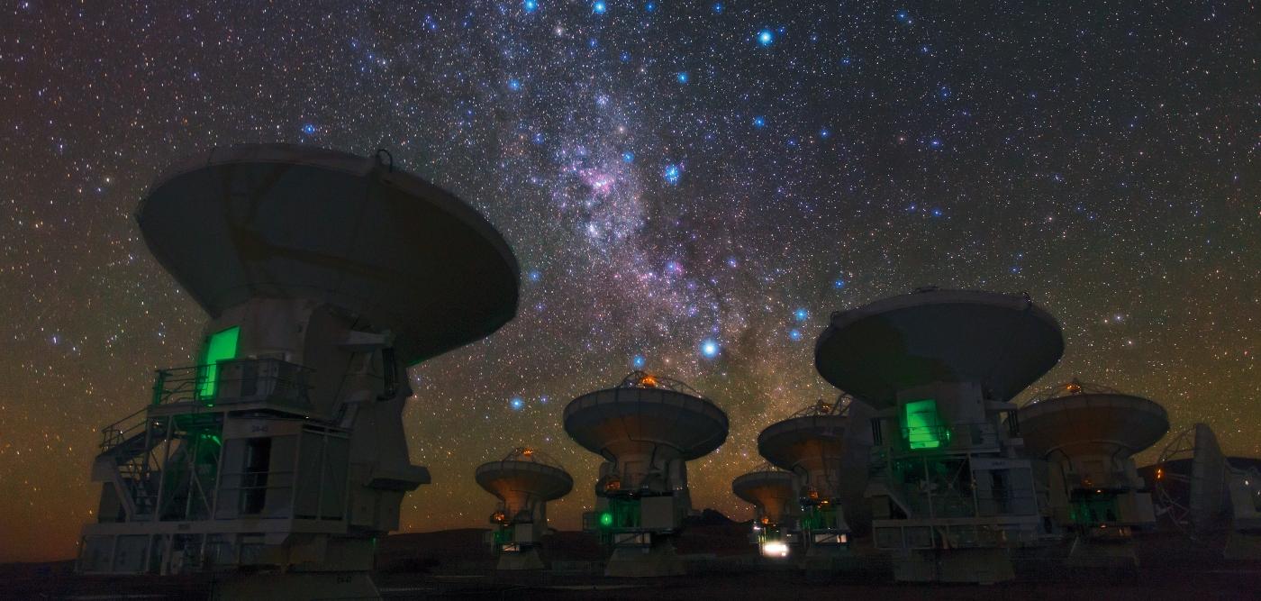Fotografía del Observatorio ALMA