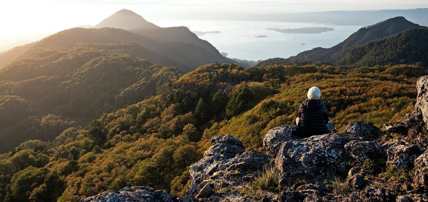 Imagen de uno de los miradores del Parque Futangue