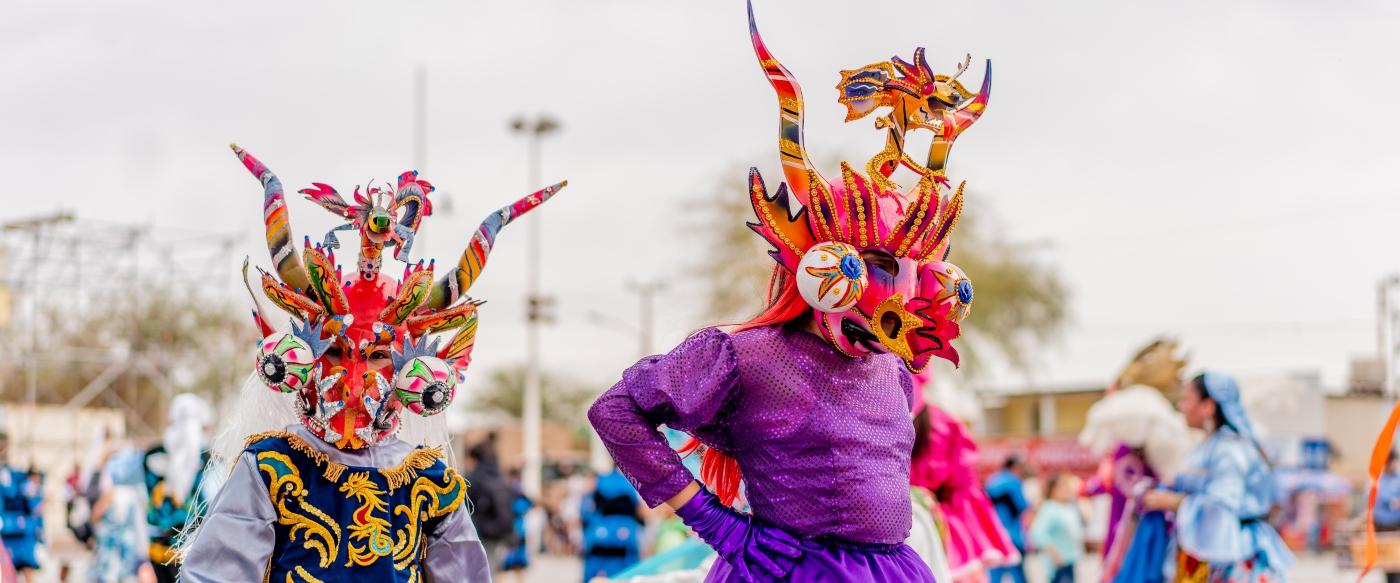 Imagen de la Fiesta de La Tirana
