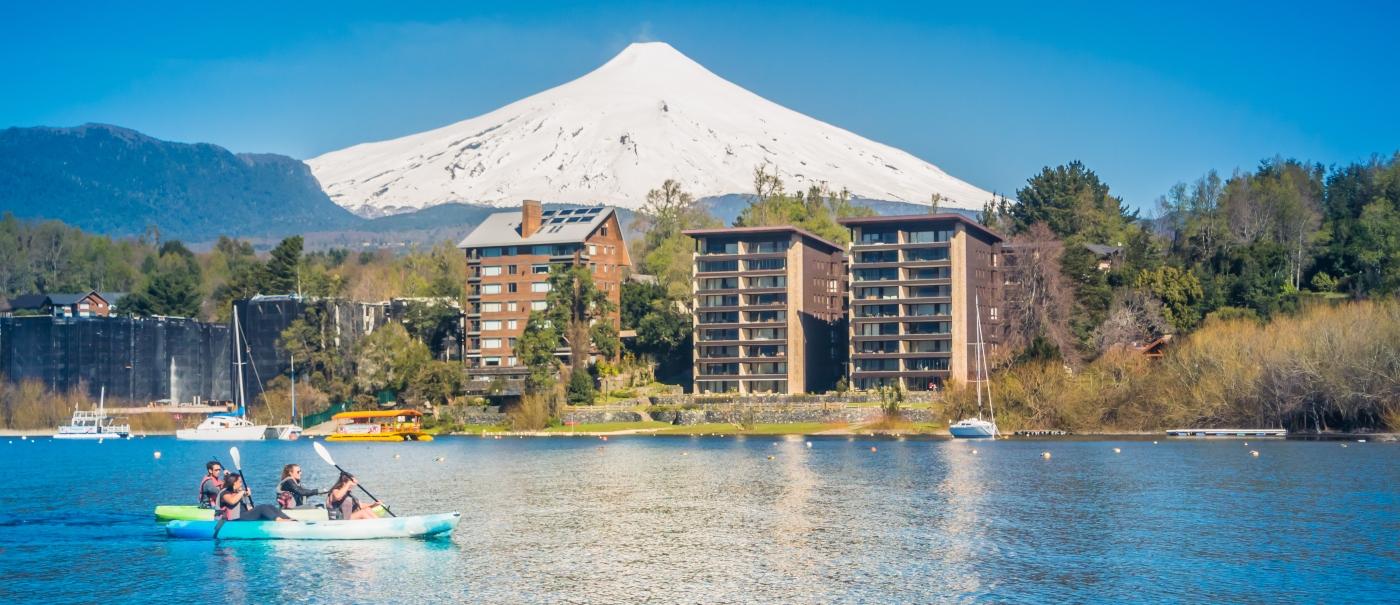 Imagen de Pucón y su lago