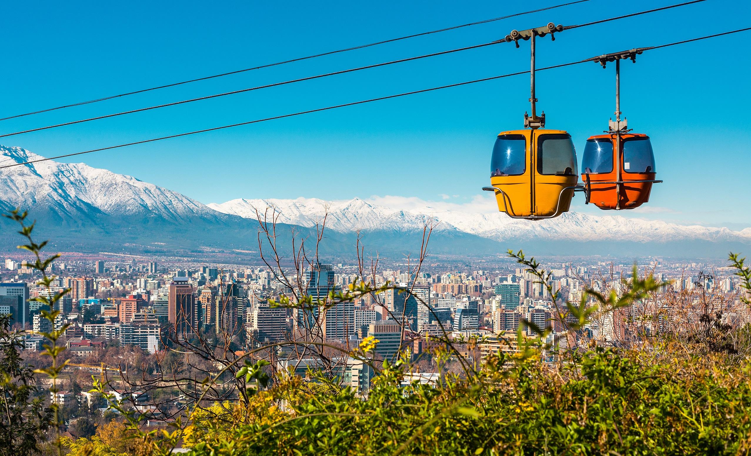 Imagen Teleferico Cerro San Cristobal