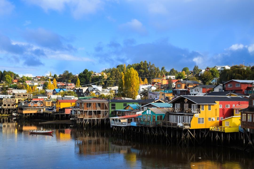 Casas pintorescas de Chiloé