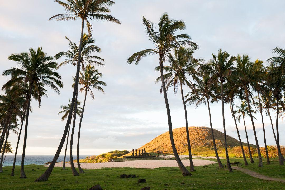 Playa de Anakena, Rapa Nui