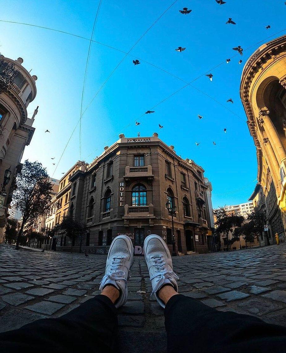 Barrio Paris - Londres, center of cultural and intellectual life, Santiago Heritage Route